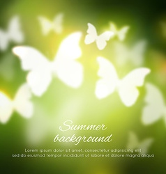 Abstract shining spring summer background with vector