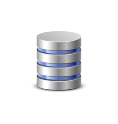 Network backup icon vector