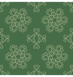 Seamless lace pattern vintage texture spiral vector