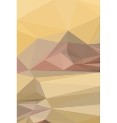 Low poly pattern vector