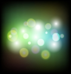 Colorful abstract bokeh light background vector