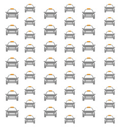 Taxi cab background vector