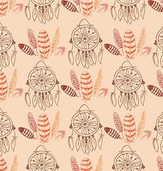 Native american seamless pattern vector