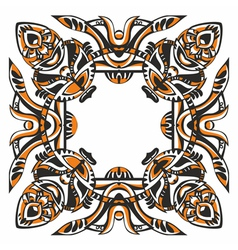 Tribal border vector