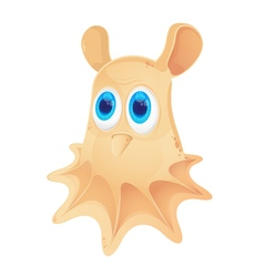 Cartoon Grimpoteuthis isolated on white background vector image vector image