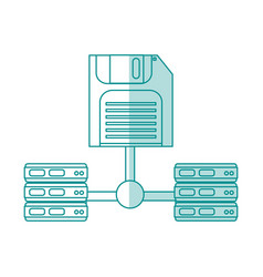 Floppy disk design vector