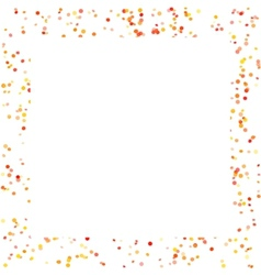 Frame with small spots vector