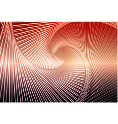 Red orange purple glowing spiral background vector