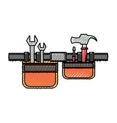 Tool belt vector