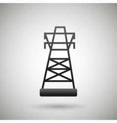 Tower energy design vector