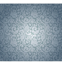 Blue pattern seamless vector