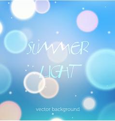 Bokeh festive background vector image vector image