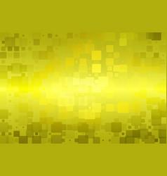 Golden yellow khaki glowing various tiles vector