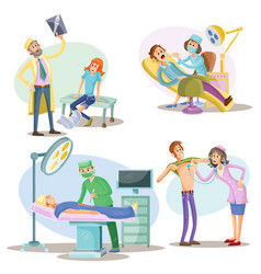 Medical examination and treatment vector