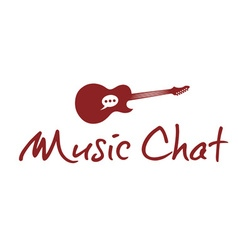 music chat concept design template vector image vector image