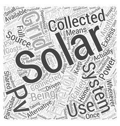 Solar energy collecting as alternative energy vector