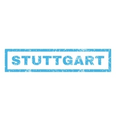 Stuttgart rubber stamp vector
