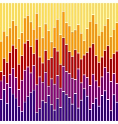 Chart stripes vector