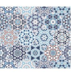set of hexagonal elements vector image