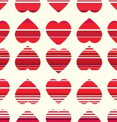 Valentine pattern seamless texture with hearts vector
