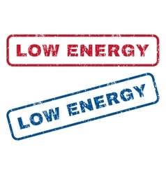 Low Energy Rubber Stamps vector image vector image