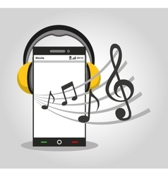 music player device electronic vector image