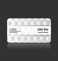 Business card bumps vector