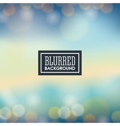 Blurre background graphic vector image vector image