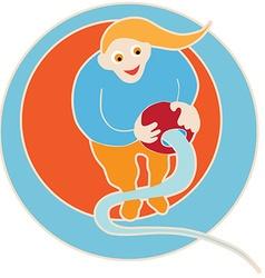 clip art aquarius vector image vector image
