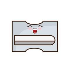 Kawaii sharpener icon image vector