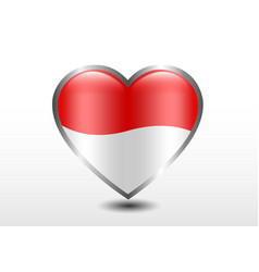 love country indonesia vector image