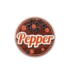 Pepper spice vector