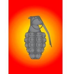 Splatter Grenade vector image vector image