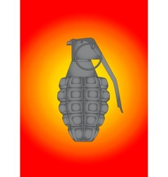 Splatter Grenade vector image