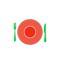 Restaurant icon vector