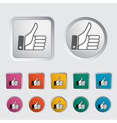 Like icon 2 vector image