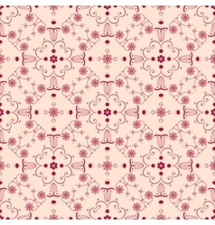 Arabesque seamless background vector image