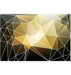 Black gray yellow white geometric background with vector