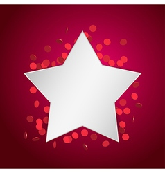 celebration star1 vector image vector image