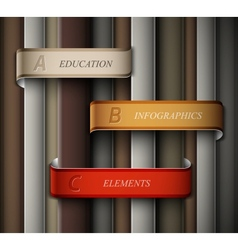 Education banner vector image
