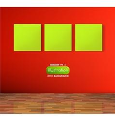 Empty storefront design vector