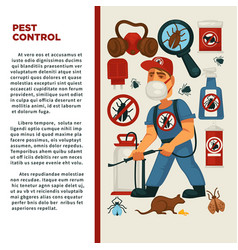Extermination or pest control service and sanitary vector
