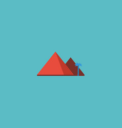 flat icon giza element of vector image