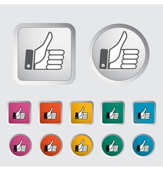 Like icon 2 vector image vector image