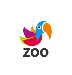 logo zoo vector image vector image