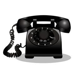 Vintage telephone vector
