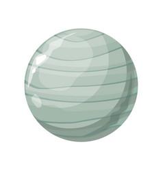 Planet uranus icon vector