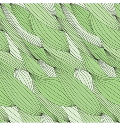 Seamless green texture for fabric vector