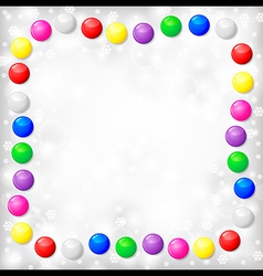 blur background balls vector image vector image