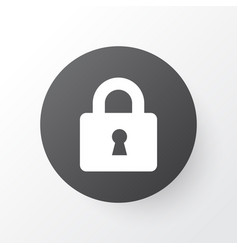 lock icon symbol premium quality isolated close vector image vector image
